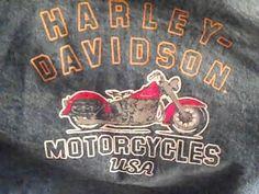 HARLEY DAVIDSON MOTORCYCLES Childs  10 Jean Denim Jacket  100% Cotton #HARLEYDAVIDSONMOTORCYCLES #JeanJacket #Everyday