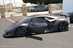 Definitely a work of art. The world's only $2,200,000 Lamborghino Sesto Elemento is capable of 0-60 in just under 2.4 seconds. See it at the grand opening of Lamborghini Newport Beach.