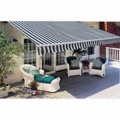 Corsa Folding Awning Motorised W 6 x D Patio Awning Sol 72 Outdoor Back Patio, Small Patio, Outdoor Spaces, Outdoor Living, Outdoor Decor, Outdoor Patios, Outdoor Kitchens, Camper Awnings, Door Canopy