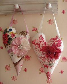 heart sachets