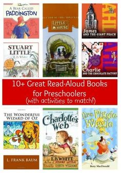 Change up your bedtime story routine - start reading chapter books aloud to your preschooler, and fuel their interest with daytime activities to match!