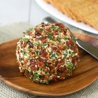 Bacon-Jalapeo Cheese Ball: a simple make-ahead appetizer
