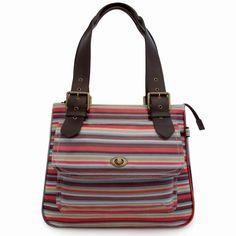 #sophiaandmatt Stripe Shoulder Bag designed by Sophia & Matt, Greenwich, London