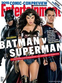 EW's BATMAN V SUPERMAN: DOJ Cover Features The Trinity; Plus New Pics Of Lex Luthor & More