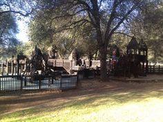 Kids Kingdom playground and Fantasy Fountain splash park, Redding, CA PlayAcrossAmerica.com