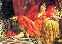 Real Painted Photo Images of Hurram Sultan Turkish