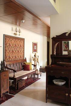 Portfolio - ShivaniDogra.IN Living Room Interior, Living Rooms, Interior Decorating, Interior Design, Indian Home Decor, Dream Houses, Living Area, Beautiful Homes, Desk