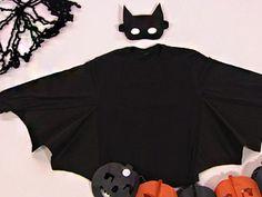 Fazer uma fantasia de morcego é muito fácil e seus pequenos adorarão (Foto: Divulgação) Toddler Boy Halloween Costumes, Halloween Kids, Halloween Meninas, Bat Halloween Costume, Fantasias Halloween, Halloween Disfraces, Toddler Boys, Ideias Fashion, Crop Tops