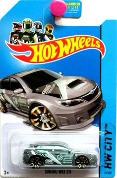 2014 Hot Wheels TREASURE HUNT SUBARU WRX HW City #24/250 #HotWheels #Subaru