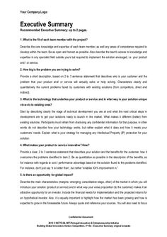 Summary Sample For Resume Fascinating Executive Summary Template  Business Summary Template  Pinterest .