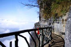 天门山 (Tian Men Shan) Zhang Jia Jie, Hunan, China Tian Shan, Asia Travel, Bridges, Travel Ideas, To Go, Bucket, Wanderlust, China, Spaces