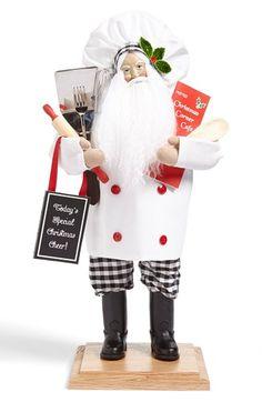 Lynn Haney 'Christmas Cuisine' Santa Figurine available at #Nordstrom