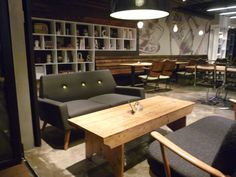 Finsbury Sofas at Cafe Lusso, Seoul, Korea. Interior design by Sherlock Studio.