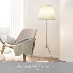 Belysningsideer til ethvert rom Shades, Lighting, Home Decor, Decoration Home, Room Decor, Lights, Sunnies, Home Interior Design, Eye Shadows