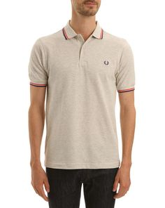 Polo Slim Fit Gris Chiné FRED PERRY