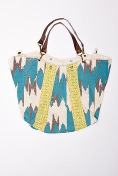 Slouchy Ikat Tote