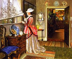Summer  John Atkinson Grimshaw - this makes me happy somehow....
