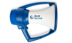 The Blue Ocean megaphone is the the latest product developed by Nielson Kellerman, the manufacturer of all Kestrel weather meters. Designed originally for the rowing industry, these megaphones have become extremely popular with military, fire and police departments, and others who need to be heard by a large group of people. The Blue Ocean is the most durable, weather resistant bullhorn you will find. It was uniquely designed and carefully built to defy severe weather that commonly ruin ...