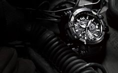 Fresh for take off. Forged with carbon fiber and packed with tech, the Gravitymaster uses the world's first GPS Atomic Solar Hyrbrid radio to determine your time zone. G Shock, Display Case, Carbon Fiber, Casio, Tech, Military, Watches, Detail, Gemstones