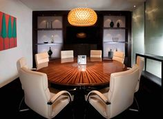 Elegant, boutique meeting room in Mayfair.  (Take 5: Mayfair's Most Stylish Business Centres) #offices #mayfair