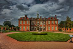Worcestershire england   Hanbury Hall, Droitwich, Worcestershire, England, UK (Polarised HDR ...