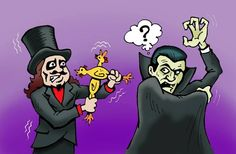Svengoolie fun Classic Horror Movies, Horror Films, Comic Drawing, East Side, Man Cave, Comic Art, Monsters, Dads, Paintings