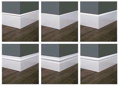 Onze plinten in 2020 Baseboard Styles, Baseboard Trim, Baseboard Ideas, White Baseboards, Modern Baseboards, Floor Molding, Moldings And Trim, Moulding, Window Molding Trim