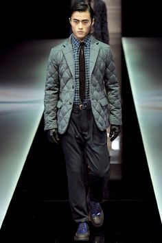 Giorgio Armani | Fall 2013 Menswear Collection | Style.com