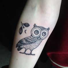 Owl of Athena done by Zeke at Chronic Ink
