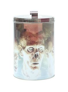 Walking Dead Cookie Canister - Have a foodie friend who loves The Walking Dead? Boom. Perfect gift!