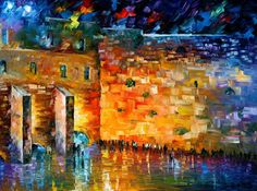 WAILING WALL by Leonid Afremov