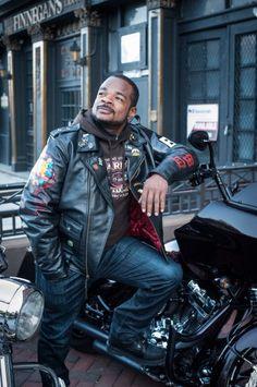 Black African American Harley Davidson Man Women ...  |African American Harley Riders