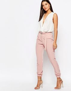 Image 1 ofMissguided Tailored Joggers