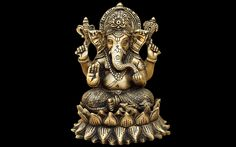 Amazing New Art of Lord Ganesha HD Wallpaper