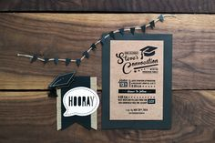 Convocation RSVP card #RSVP #GraphicDesign #yyc