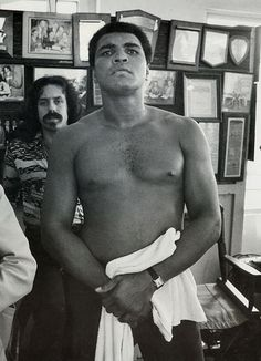 Muhammad Ali in 1976