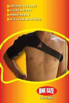 Mighty Grip Shoulder Support For Left Shoulder by Mighty Grip. $35.12. Highly Recommended.. Designed to be kind to your shoulder.. Top quality.. Support for torn rotator cuff, strained shoulder muscles, injured or torn tendons.Available for Left and Right shoulder. Used for shoulder stress and strains applies warmth to the affected area for good results. One Size Fits ALL! VELCRO® brand Closure Light Weight Breathable Air Flow Neoprene.The price is for each.
