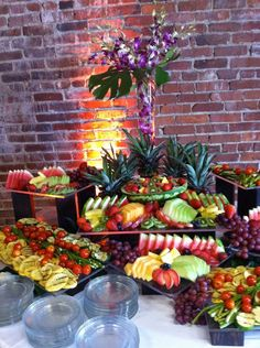 Copper Kettle Cafe & Catering - Fruit and Cheese Display - Nashville, TN, United States