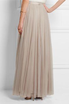 Needle & Thread   Tulle maxi skirt   NET-A-PORTER.COM