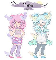 Day 18: Raffle! by jawlatte Drawing Base, Drawing Stuff, Character Art, Character Design, Hairstyle Names, Cute Characters, Fictional Characters, Drawing Clothes, Types Of Art