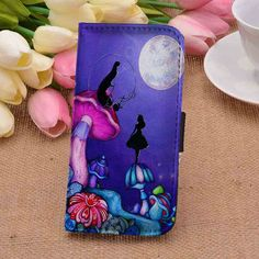 Alice in Wonderland 1 | Disney | custom wallet case for iphone 4/4s 5 5s 5c 6 6plus case and samsung galaxy s3 s4 s5 s6 case - RSBLVD