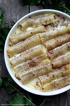 Cannelloni mit Apfel-Zimt-Füllung + GIVE-AWAY!! • Schokokuss und Zuckerperle