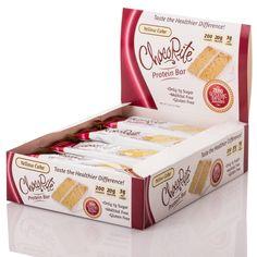 ChocoRite 20g Naked Protein Bars by HealthSmart - Yellow Cake