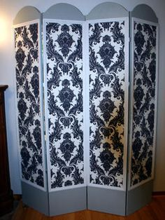 Build your own privacy screen or room divider Have fun with the