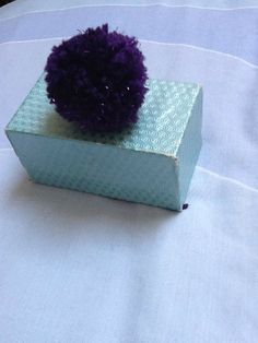 Purple Gift Decoration Sparkly Gift by KreationsByKirstenL on Etsy