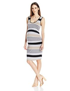 Ripe Maternity Womens Stripe Nursing Dress Flint XS -- Check out the image by visiting the link.Note:It is affiliate link to Amazon.