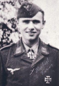 ✠ Herbert Fries (1 March 1925 – 6 January 2014) RK 05.09.1944 Gefreiter Geschützführer i. d. 2./Fsch-Pz.Jäg.Abt 1