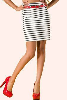 Caught Red Handed Pencil Skirt