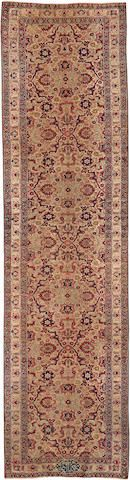 Lavar Kerman runner  South Central Persia  late 19th century  size approximately 3ft. 5in. x 13ft. 8in.