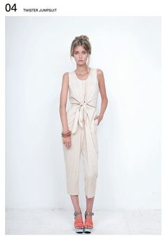 Happy Earth Day: Jumpsuit By Bodkin. All of Their Clothing Is Made From Almost Organic Fibers Fitted Jumpsuit, Ethical Fashion, Different Styles, Sustainable Fashion, Passion For Fashion, Style Me, Spring Summer, Spring Style, Style Inspiration